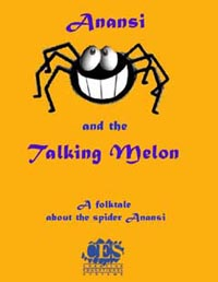 Anansi and the Talking Melon Kindergarten play script cover