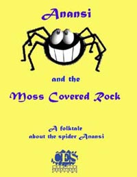 Anansi and the Moss Covered Rock Kindergarten play script cover