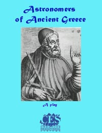 Astronomers of Ancient Greece 6th grade play script cover