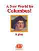 A New World for Columbus! multicultural approach play script cover