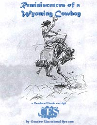 Wyoming Cowboy play script cover