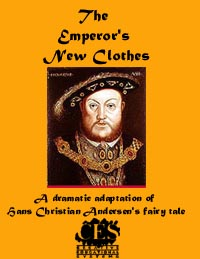 The Emperor's New Clothes 1st grade play script cover
