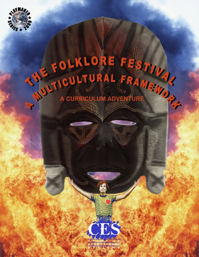 cover for Folklore Festival Teachers Guide: A Multicultural Framework