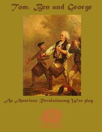 Thomas Jefferson Benjamin Franklin and George Washington the 