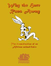 Why the Hare Runs Away 1st grade play script cover