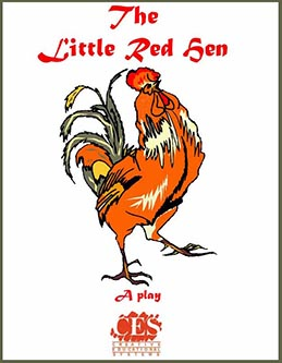 Little Red Hen play script cover