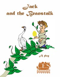 Jack and the Beanstalk  play script adaptation of the old English Fairy Tale cover