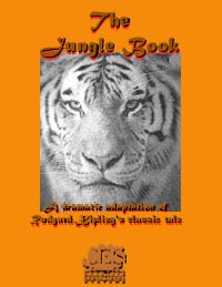 Jungle Book 3rd grade play script cover