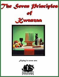 The Seven Principles of Kwanzaa middle school play script collection cover