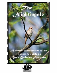 The Nightingale fairytale by Hans Christian Andersen 3rd grade play script cover