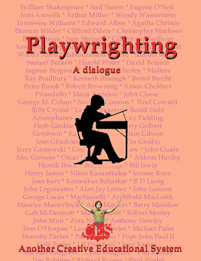 Playwriting manual cover