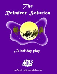 Reindeer Solution 3rd grade play script cover