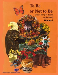 Two Be Or Not To Be preteen play scripts collection cover