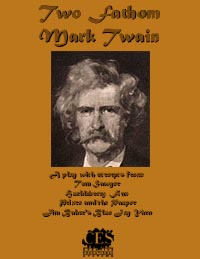 Two Fathom Mark Twain play script cover