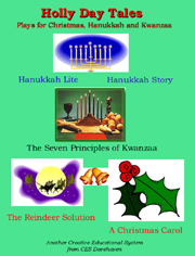 Five Plays for Christmas Hannukah and Kwanzaa play collection cover