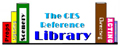 creative educational systems book library logo 		for the book Richard Corson's 'Stage Makeup' page