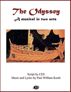 Odyssey Musical Two Act by Homer epic poem and play script cover